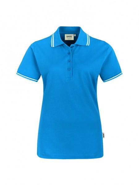 Damen-Poloshirt Twin-Stripe