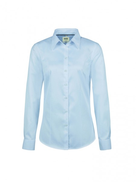 Bluse 1/1-Arm Oxford