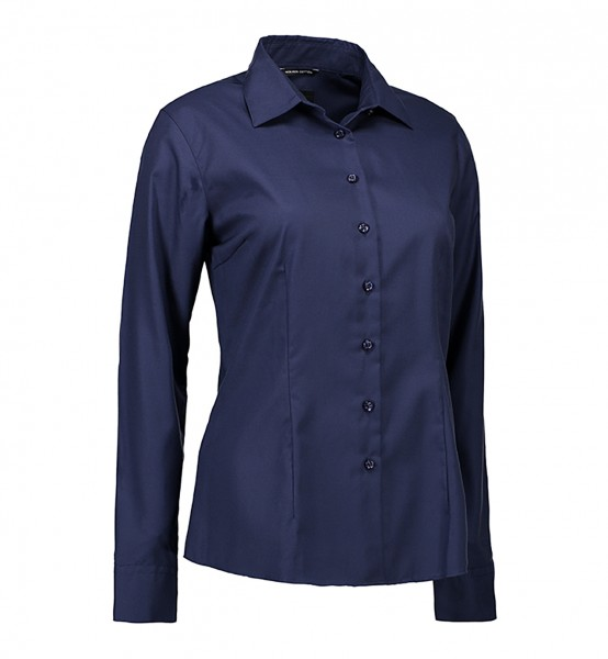 Non Iron-Bluse   modern fit
