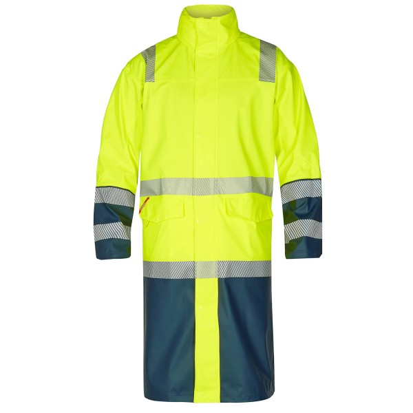 Safety Lange Regenjacke