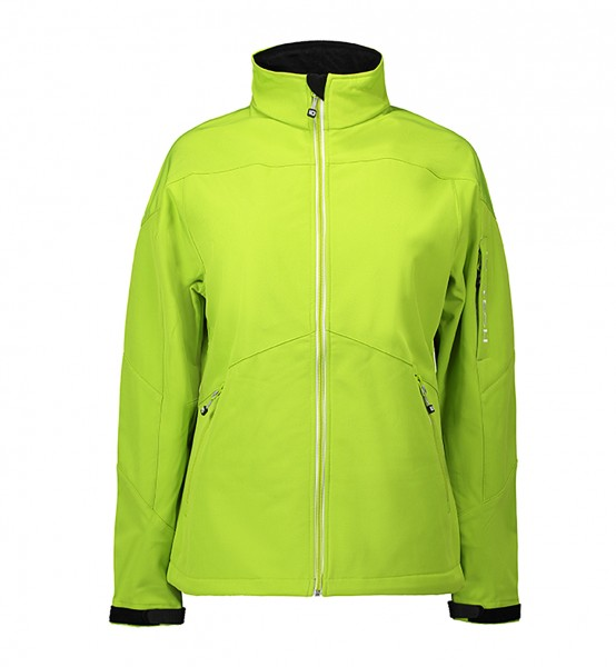 Soft Shell Damenjacke | Kontrast