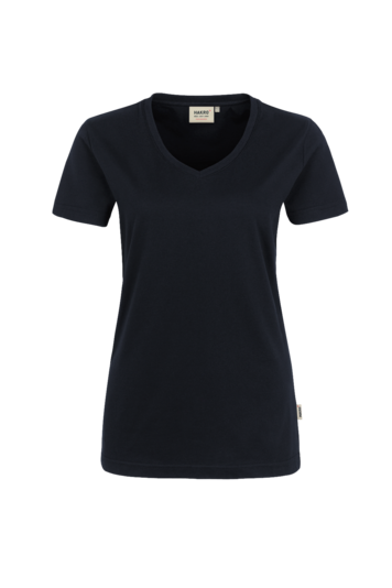 Damen-V-Shirt High Performance