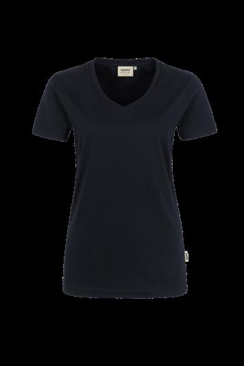 Damen-V-Shirt High Performance