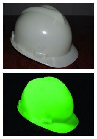 10x Glowtex Helm EN 397