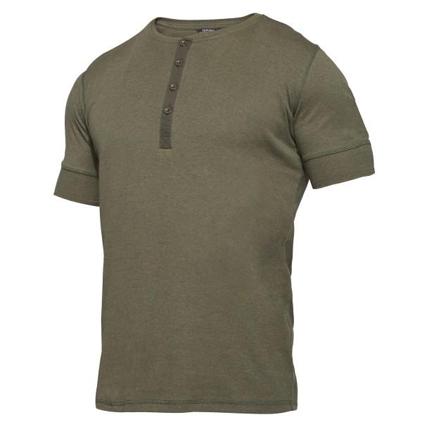 Explore Grandad Kurzarm-Shirt