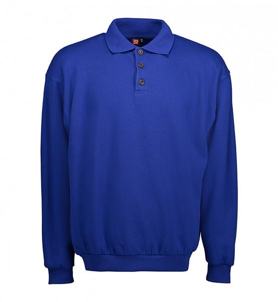 Klassisches Herren Polo-Sweatshirt