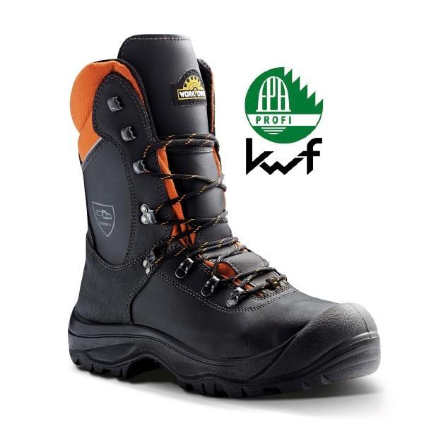 Schnittschutz Stiefel S3 Black Forest