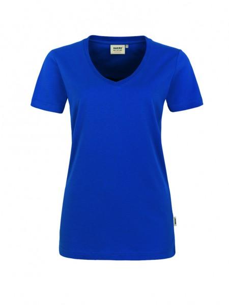 Damen-V-Shirt Performance