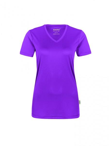 Damen-V-Shirt COOLMAX®